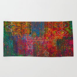 Holi Sky Beach Towel