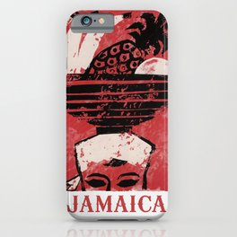Jamaica - Vintage Caribbean Travel iPhone Case