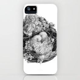 Quiet Embrace iPhone Case