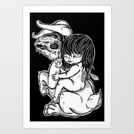 I Don't Know Art Print