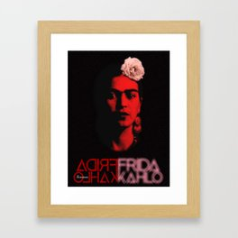 Frida Kahlo (Ver 9.4) Framed Art Print