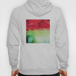 Modern Texture Red Abstract Hoody