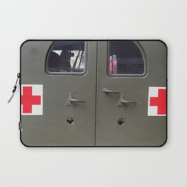 red cross Laptop Sleeve