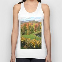 vermont Tank Tops featuring Vermont Foliage Watercolor by Vermont Greetings