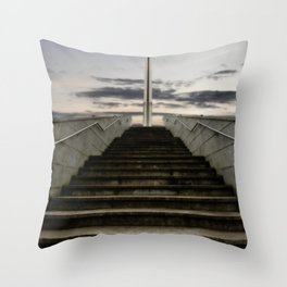 Pope's Cross Throw Pillow