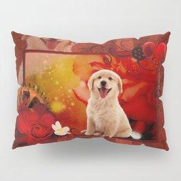 Sweet golden retriever Pillow Sham
