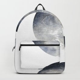 Phases of the Moon Watercolor Backpack