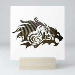 Sher (Lion) Mini Art Print