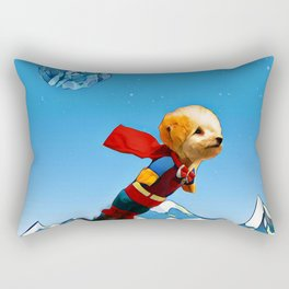 Super doggy Rectangular Pillow