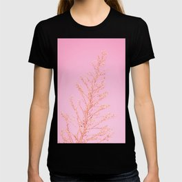 Seeds of Weeds in Pink T-shirt