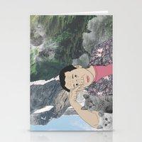 murakami Stationery Cards featuring HARUKI MURAKAMI by Lucas Eme A