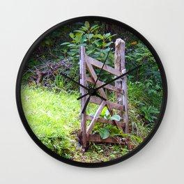 Gate Wall Clock