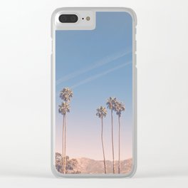 Cali Life, No. 3 Clear iPhone Case