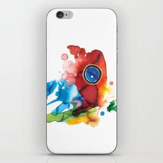 colorful butterfly - 2 iPhone & iPod Skin