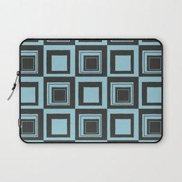 Blue Squares Laptop Sleeve
