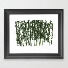 Pretty Weeds Framed Art Print