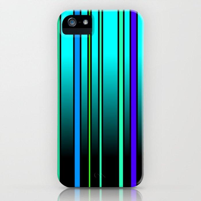 Fresh Blue iPhone Case