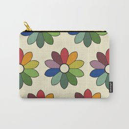 Flower pattern based on James Ward's Chromatic Circle Carry-All Pouch