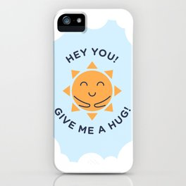 Summer, How Cute Are You! iPhone Case