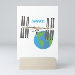 International Space Station Mini Art Print
