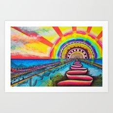 Sundog Art Print