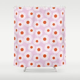 Daisy Starbusrt Shower Curtain