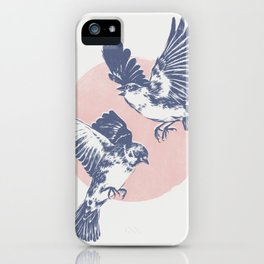Sparrows II iPhone Case