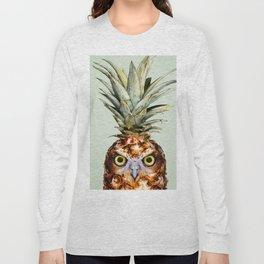 PINEAPPLE OWL Long Sleeve T-shirt