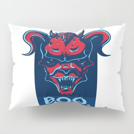 Boo. Demon Pillow Sham