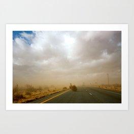 Dust Roll Art Print