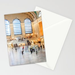 Shadows of Grand Central Stationery Cards