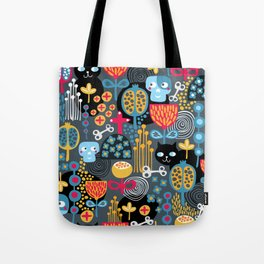Funny cemetery. Tote Bag