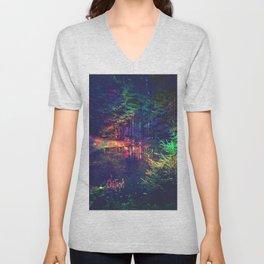 mysterious forest Unisex V-Neck