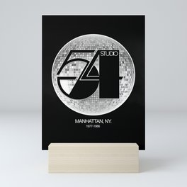Studio 54 - Discoteque Mini Art Print