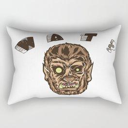 Werewolf's Daze Rectangular Pillow