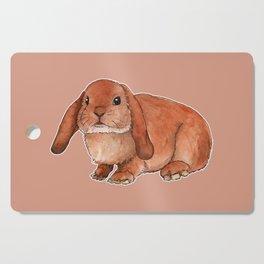 Red rabbit ram Cutting Board