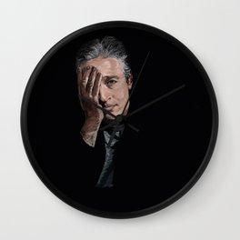 Jon Stewart Wall Clock