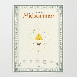 Midsommar Alternative Poster Poster