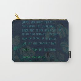 """""""Conquest of the Useless"""" by Werner Herzog Print (v. 4) Carry-All Pouch"""