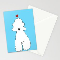 Bedlington Terrier Dogs Stationery Cards
