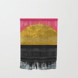 Abstract Sunset Wall Hanging