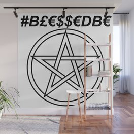 TRULY #BLESSEDBE INVERSE Wall Mural