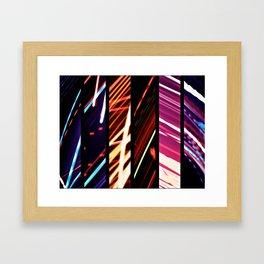 Bending Light Framed Art Print