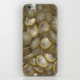 COINS iPhone Skin