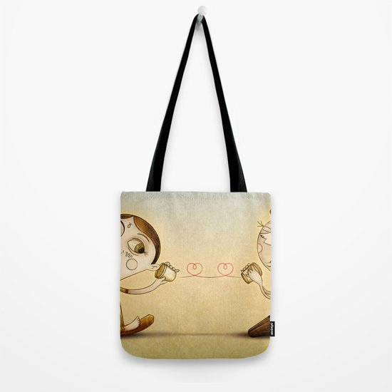 Phone Tote Bag