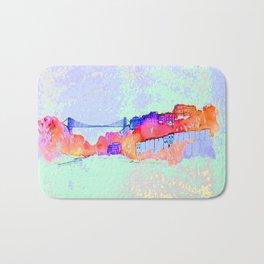 Bristol Cityscape Digital Bath Mat