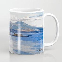Italy. The Bay of Napoli Coffee Mug