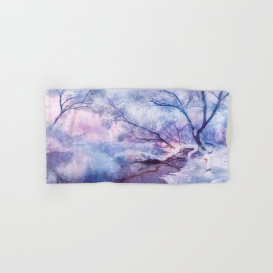 Winter fairy tale Hand & Bath Towel