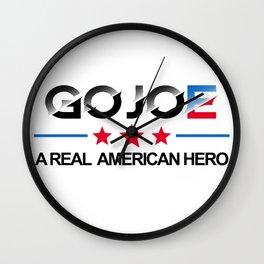 Go Joe - A Real American Hero: Biden 2020 Wall Clock
