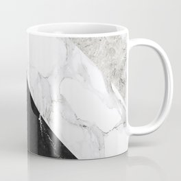 Contemporary Marble Stone Rays Coffee Mug
